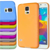 Ultra Thin 0.3mm Matte Finish Slim Fitted Case For Samsung Galaxy S5 i9600