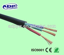 good quality ADP 3cores flexible RVV electric Cable