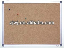 80*90cm Aluminum frame cork board push pins for notice board