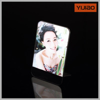 custom latest photo frame clear plastic picture frames