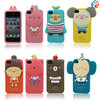 Free Shipping Momo's Blog Romane Silicone 3D animal case for iphone 4 4s Koala owl phone cover
