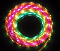 HS Led Digital Light 12V WS2801 96Leds SMD 5050 RGB Led Strip