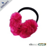 faux fur winter ear muff