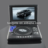 ultra slim portable dvd player large screen with game function