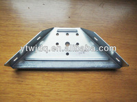 HOT Hardware Joinery Metal Bracket Wood Connector Perforated Bracket