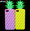 VS pineapple case factory price silicone custom phone cases for Iphone