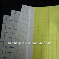 "80100 special size Glossy cold lamination film,white paper with blue lines,image protection,37"",43"",51"""