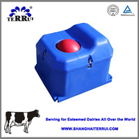 Two /one-hole modern trough sink for dairy cattle/cow, sheep and horse