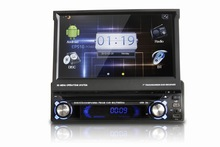 2014 DLS High quality 7 inch universal 1 din car dvd player system with wifi/3g surf internet