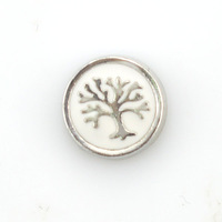 2015 New fashion life tree wholesale floating charms for lockets