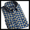 new technology product in china wholesale classic long sleeve plaid silk shirts for men