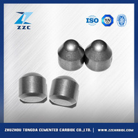 Tungsten carbide coal mining tool with long produce experience