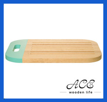 Dipped Color Wooden Cutting Board Painting Colour Bread Board