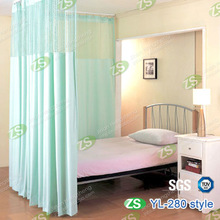 hospital cubicle partition bed screen curtain