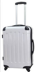 fashionable abs pc carry on luggage, trolley travel luggage