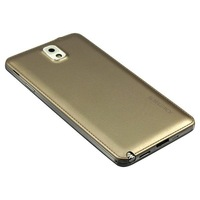 high quality leather layer battery removable galaxy note 3 battery cover