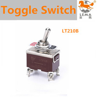 LT210B screw terminal double pole single throw toggle switch