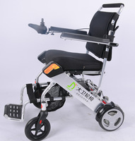 Folding light weight aluninium electric wheelchair conversion kit