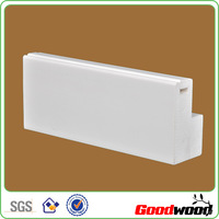 Extruded Solid Paint Plastic Pvc Shutter Profile