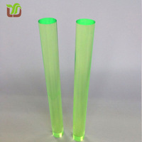Colored Decorative Plexiglass Rod, plastic pvc Rod /Bar
