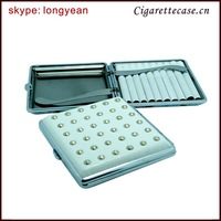 High quality metal cigarette case with novely design