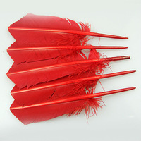 Natural Dyed Party and Decoration turkey wing feathers