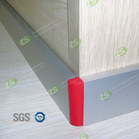 Silver Brushed Decorative Stainless Steel Skirting Boards