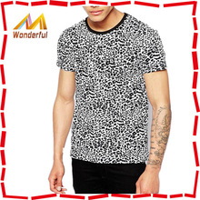 2015 High quality and fashion China supplier roll back sleeve wholesale plain no brand t-shirt