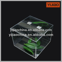 clear acrylic candy box with cover splicing container