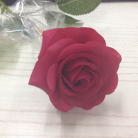 Artificial roses bulk,top quality Latex real touch single stem red rose flowers for wedding decoration