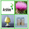2014 GMP Supplier USP30 Water soluble milk thistle extract feed grade