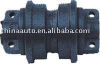 Excavator metal track roller for Komatsu D30 parts