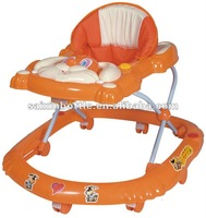 2012 Made by plastic and metal hotselling antique baby walker/baby carriage