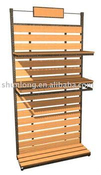 retail store wooden display shelf buy salon display. Black Bedroom Furniture Sets. Home Design Ideas