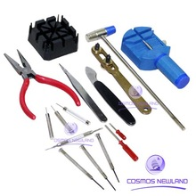 16 pcs Watch Repair Tool Kit Opener Remover