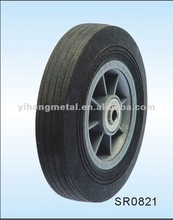 Premium Solid Rubber Wheels for Toy Wagons--Plastic Rim with Rubber Ring SR0821