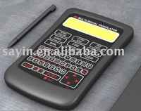2011 pocket language translator with calculator (SY-666)