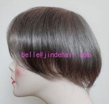 fine and hot injection skin human hair toupee wholesales