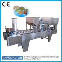 High Capacity BHJ-1 Jam Cup Filling Packing Machine