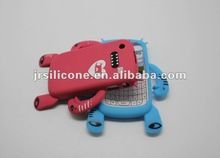 Silicone robot shape case for blackberry