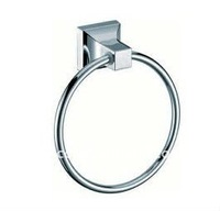 Chrome plated plastic towel ring bathroom set bathroom accessories