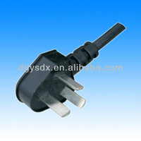 China 3 pins flat plug in power for air conditioner