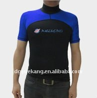 Adult short sleeve rash guard
