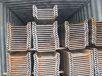 U Type Steel Sheet Pile Sections