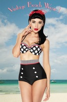 The Original Vintage Retro Push Up Bikini - atixo Design - Different Styles