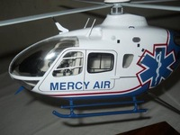 EC 135 Clear cabin helicopter