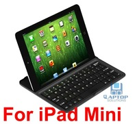 Aluminum Case Bluetooth Wireless Keyboard built-in Stand for i-Pad-2