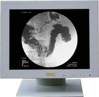 15 inches White and Black Medical LCD Monitor