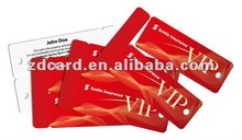 Widely Used Customized Shaped plastic Cards