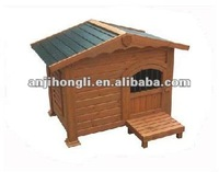 Eco-friendly Carbonized Wooden Pet House